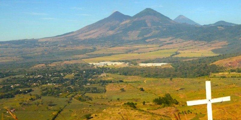 Volcán Cerro Redondo, Santa Rosa, Guatemala