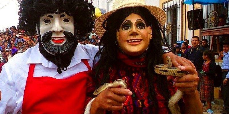 Baile o Danza de la Culebra, Quiché, Guatemala