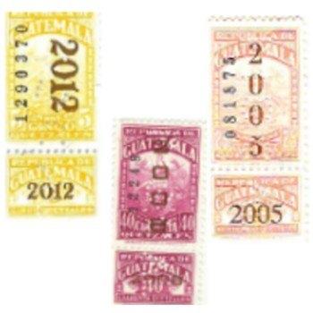 colores-timbres-fiscales-guatemala-amarillo-corinto-decolorado