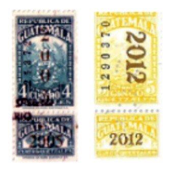 colores-timbres-fiscales-guatemala-azul-amarillo