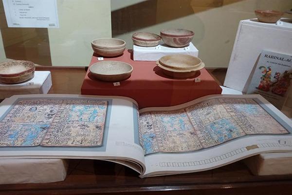 Sección histórica del Museo Santiago Sacatepéquez