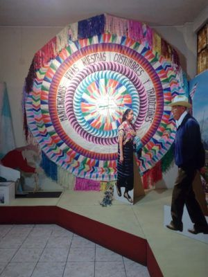 Exposición de barriletes tradicionales