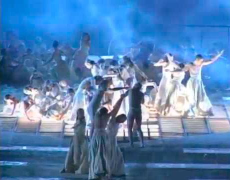 AIDA, ópera en Guatemala, foto ópera 502