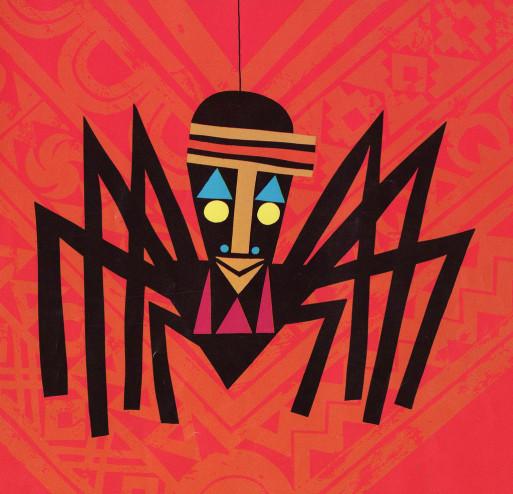 Anansí, el dios araña, foto libro de la fábula de anansí México