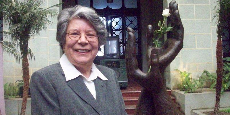 Carmen María en el Palacio Nacional