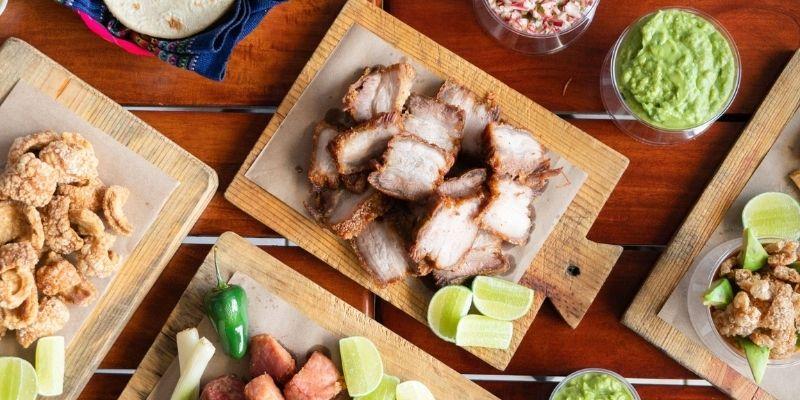 Carnitas, chicharrones y otros, Ubear Eats Guatemala