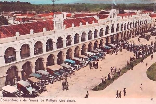 Comandancia de armas, hoy conocida como ayuntamiento de Antigua Guatemala