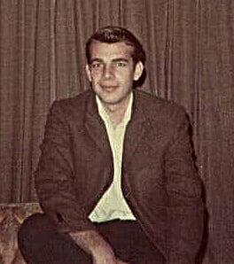 Diego Pulido durante su juventud