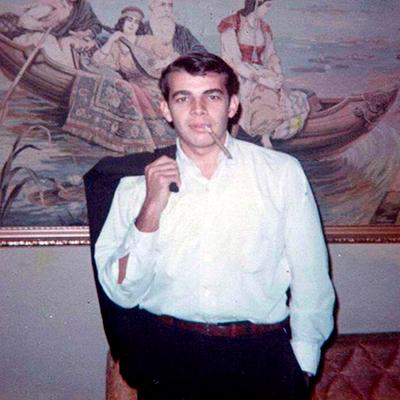 Diego Pulido en su juventud