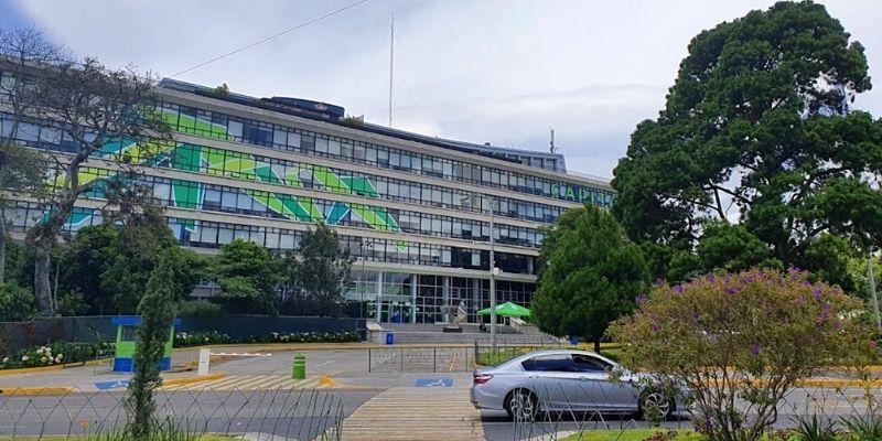 Edificio central de la Municipalidad de Guatemala