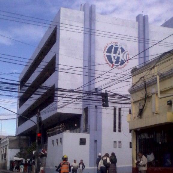 Edificio de Lotería Santa Lucía, Guatemala