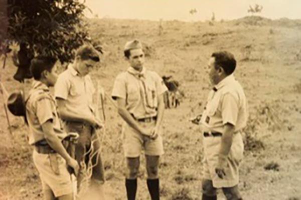 Fotos antiguas scout niños - 100 años