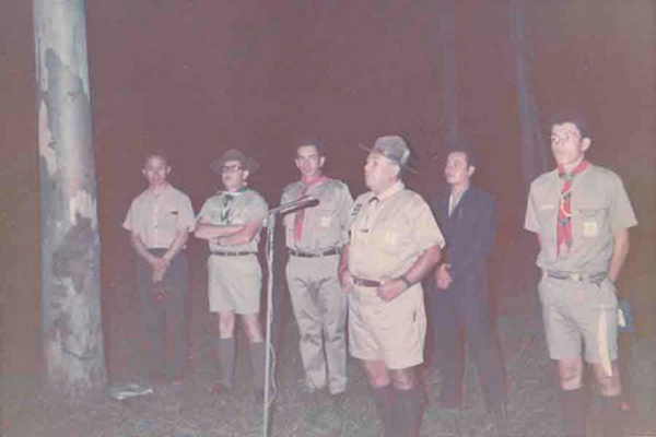 Grupo Scout no 1, Salamá, foto Conociendo a Salamá