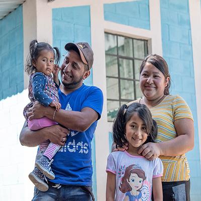 Hogares guatemaltecos - Foto Hábitat para la humanidad Guatemala