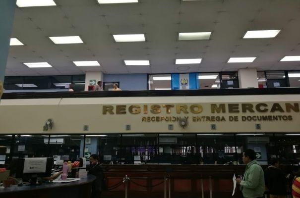 Instalaciones del Registro mercantil de la República de Guatemala, Foto Iván Díaz