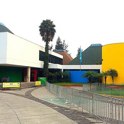 Museo de los niños Guatemala, edificio