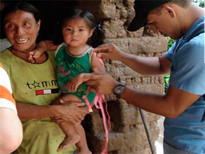 Salud de la niñez Guatemala