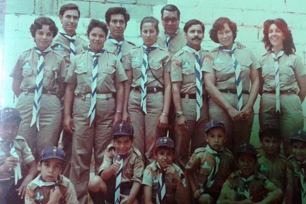 Scouts Antigua Guatemala no 7