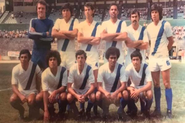Selección Nacional Guatemala Foto Por Contacto 1972