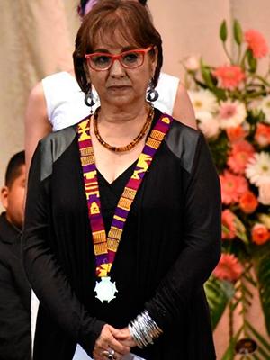 Biografía Aida Toledo, Foto - El Quetzalteco