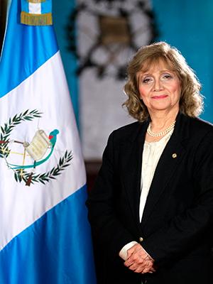 Biografía de Ana María Rodas - Foto Gobierno de Guatemala