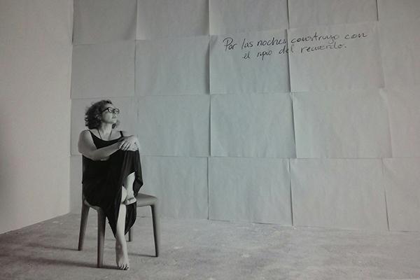 Biografía de Denise Phé-Funchal, exposición Ciento Veinte Gramos - Foto Roberto Andrés J