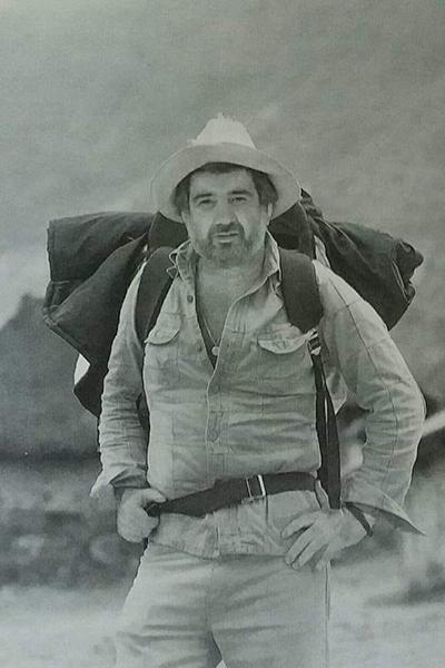 Biografía de Ricardo Mata, juventud - Foto María Cristina Smith