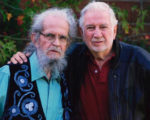 Biografía de Ricardo Mata y Efraín Recinos - Foto Jorge Palmieri