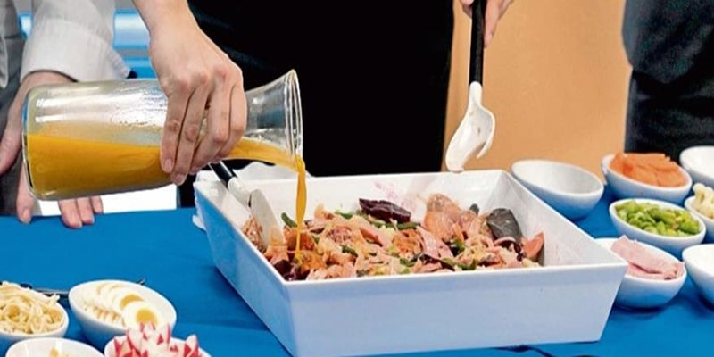 Cómo preparar el caldillo dulce para fiambre - Foto Servi Restaurantes