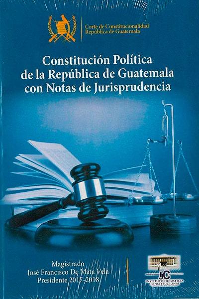 Constitución Política de la República de Guatemala, Foto. Librería Marquense