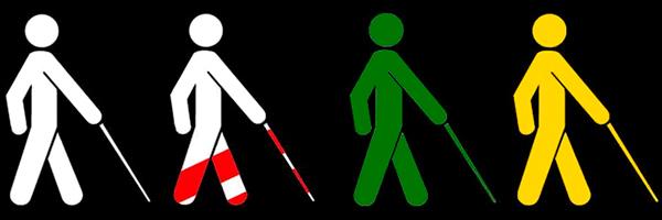 Día del bastón blanco en Guatemala - Foto Instituto Superior de Prevención Vial