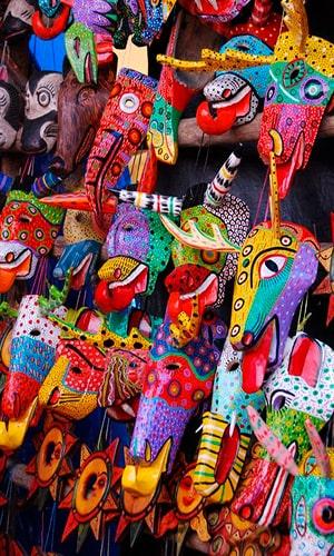 Historia de las máscaras de madera - Foto, Mara Noriega-min