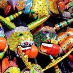 Las tradicionales máscaras de madera de Guatemala