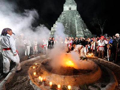 Historia del 13 baktún en Guatemala - Foto El universo
