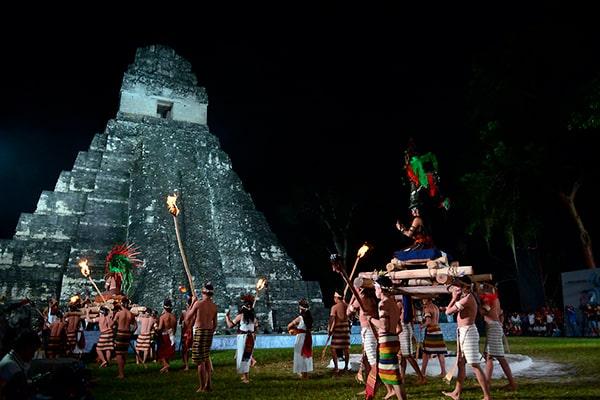 Historia del 13 baktún en Guatemala - Foto diario de Navarra