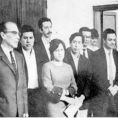 Historia del Premio Nacional de Literatura Miguel Ángel Asturias, Luis Alfredo Arango - Foto Página de Literatura Guatemalteca