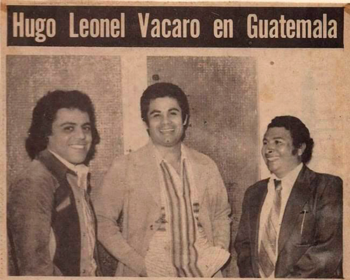 Hugo Leonel Vaccaro, artista guatemalteco, artículo - Foto Casa de la Cultura Cuilapa