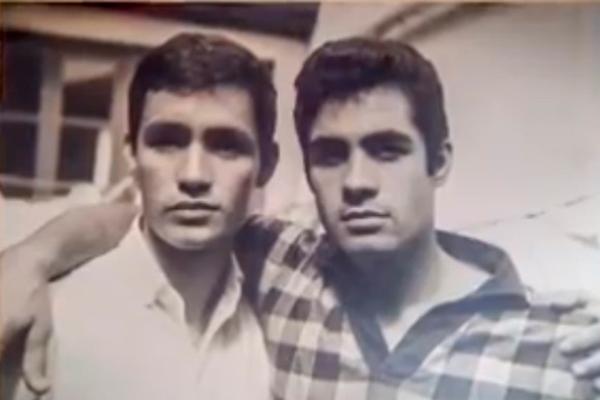 Hugo Leonel Vaccaro, artista guatemalteco, y hermano - Foto Viva la Mañana