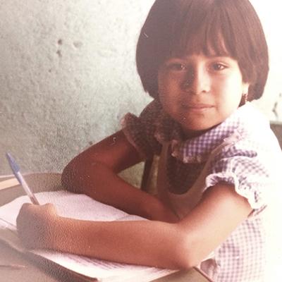 Jessica Masaya, escritra Guatemalteca, zurda - Foto Jessica Masaya