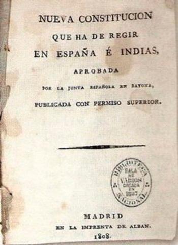 La primera constitución de Guatemala - Foto Time Toast