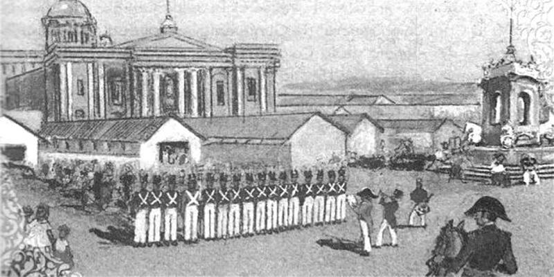 La primera constitución de Guatemala, historia militar - Foto Blog Pueblo Historia