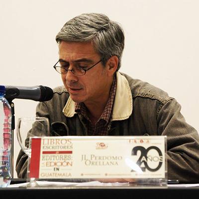 Luis Perdomo Orellana, biografía. Embajada méxico - Foto F&G Editores
