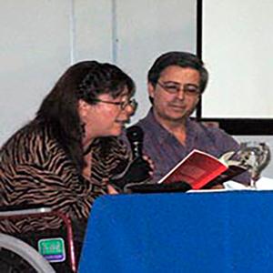 Luis Perdomo Orellana, presentación de libro - Foto F&G Editores