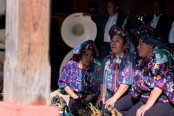 Mapa del Municipio de Santiago Domingo Xenacoj, mujeres. Foto-Xenacoj a colores