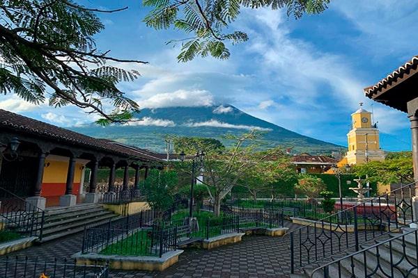 Municipio de Ciudad Vieja, Sacatepéquez, montaña - Foto IG @fotografodenisanchez