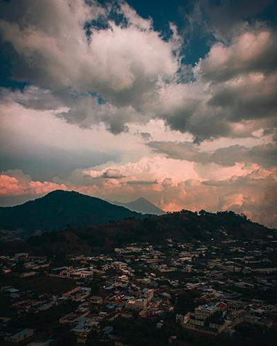 Municipio de Santa María, Sacatepéquez, montaña, Foto IG @_hi_jerry