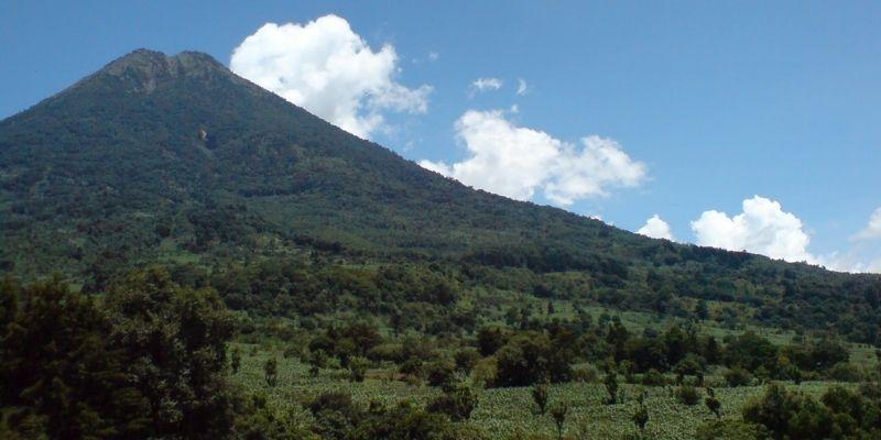 Municipio de Santa María, Sacatepéquez, montaña, Foto Santa María de Jesús