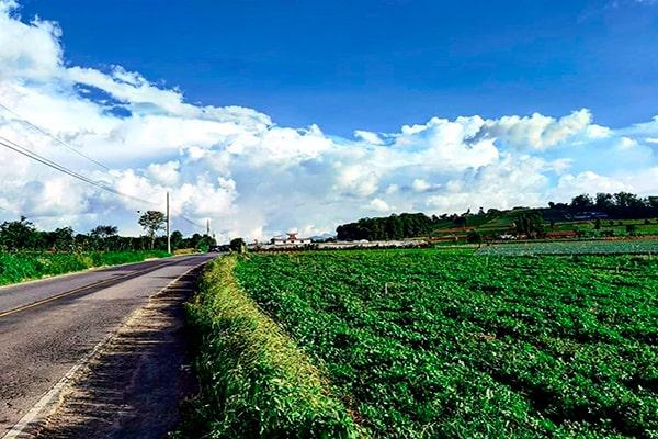 Municipio de Santiago Sacatepéquez, terreno Foto @say_rvr