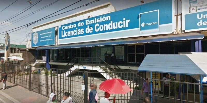 Pasos para programar una cita y tramitar licencia en Guatemala - Foto Google Maps