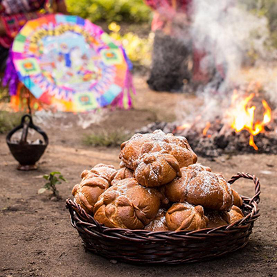 Receta para Pan de muerto - Foto San Martín